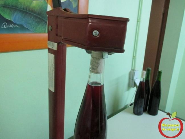 bouchonneuse manuelle pour vin de groseille-