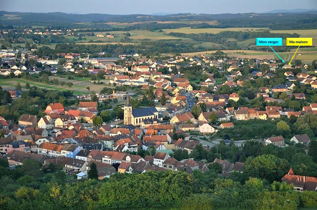 la commune de rohrbach les bitche- 57410 lorraine- Rohrbach-les-Bitche-