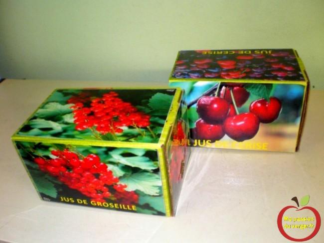 Personnalisation des cartons de bag in box, selon vos jus et vos nectars maison