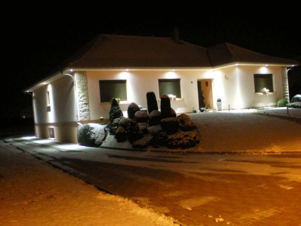 illumination maison avec les lumières leds