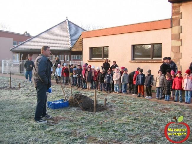 formation arboricole pour les élèves