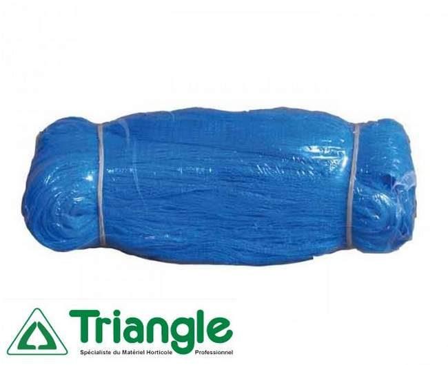 filet-anti-oiseaux bleu triangle- pour une protection efficace des cerises,- protection fruits et légumes contre oiseau