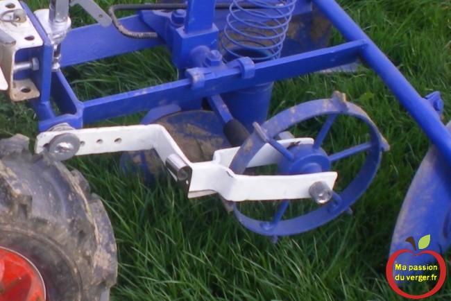 roue à cliquet pour écart entre pomme de terre  -la distance de plantation des pommes de terre-