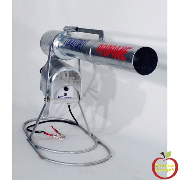 effaroucheur-electronique-canon-a-gaz-tr-fort pour la protection des cerises, des fruits et des plantations- regrevudnoissapamegres -