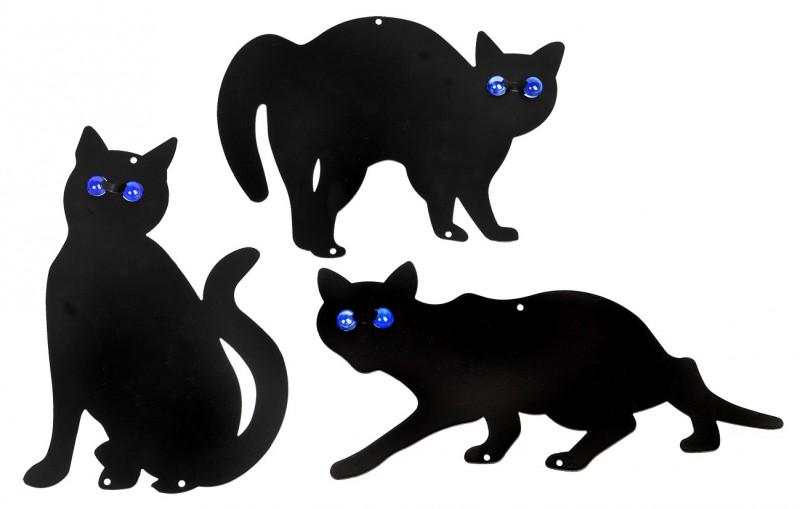 Epouvantails anti nuisibles chats lot de 3 ma passion du verger - Fabriquer un epouvantail a oiseaux ...