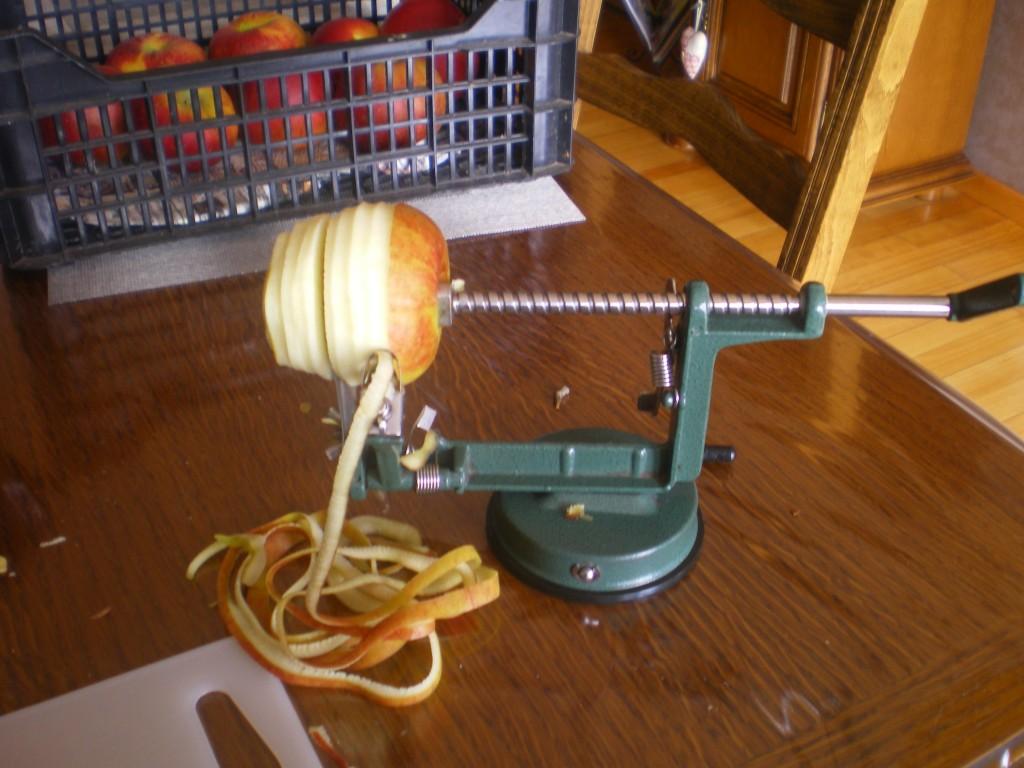 Super éplucheur de pomme, très rapide et éfficace -eplucher et découper vos pommes en quelques secondes