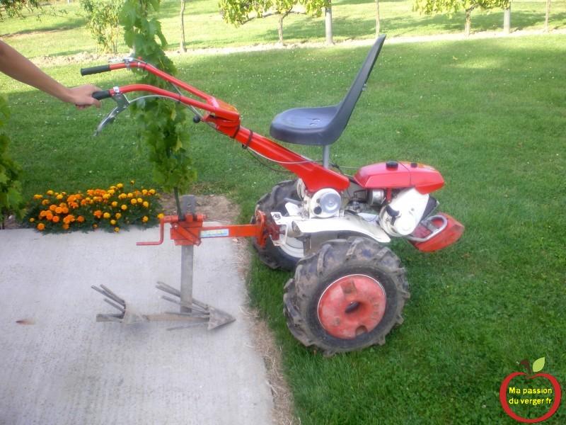 Arracheuse de pommes de terre ma passion du verger - Machine pour ramasser les pommes ...