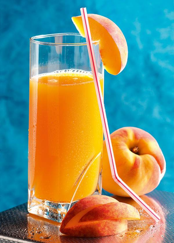 Nectar de pêches, nectarines ou abricots maison.