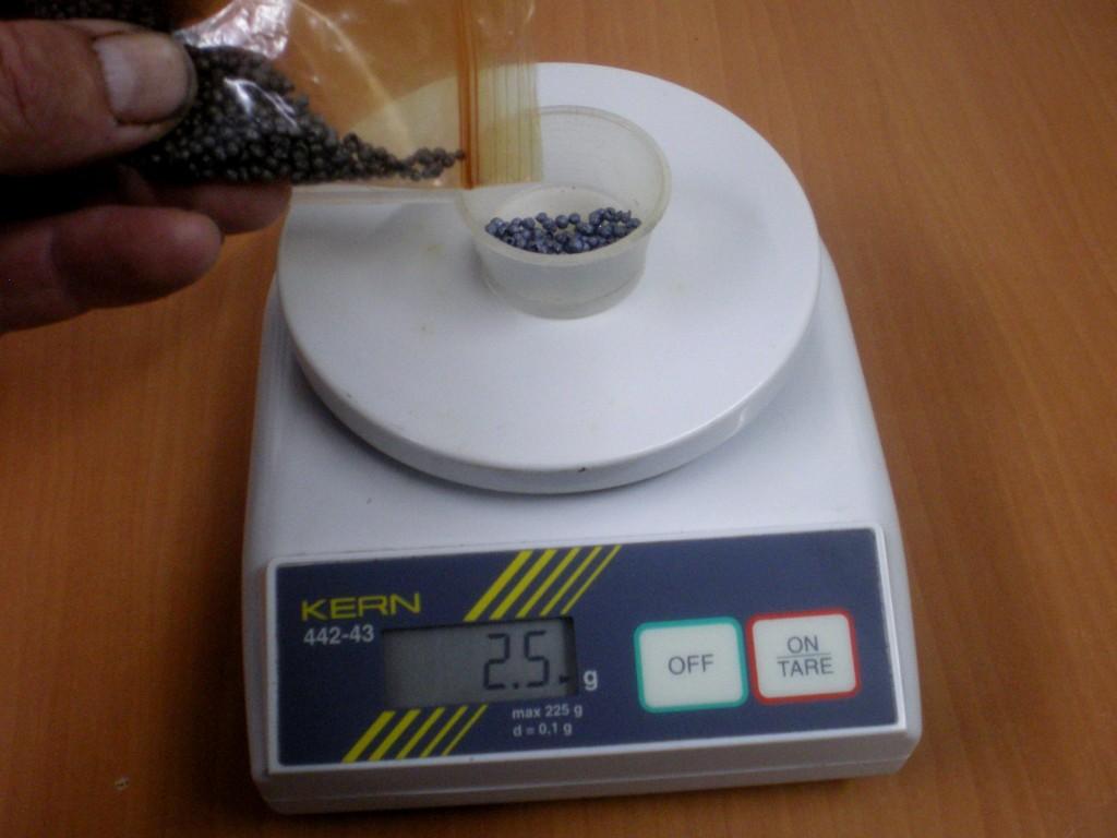 Pesage du iode en billes, pour réaliser une solution iodée