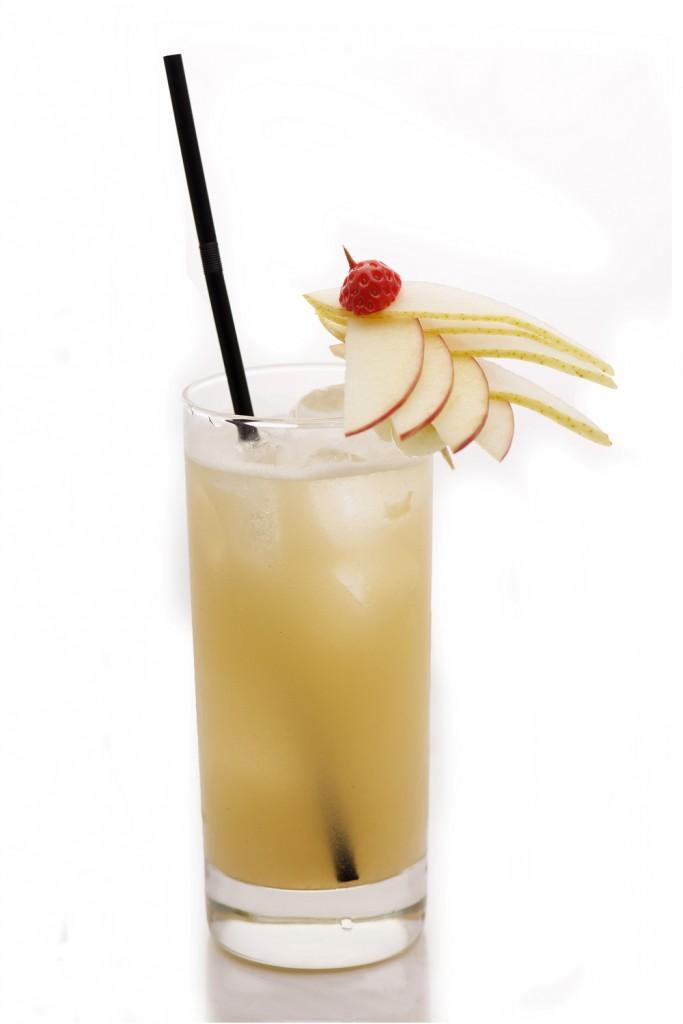 Déguster un bon cocktail avec nectar de poire