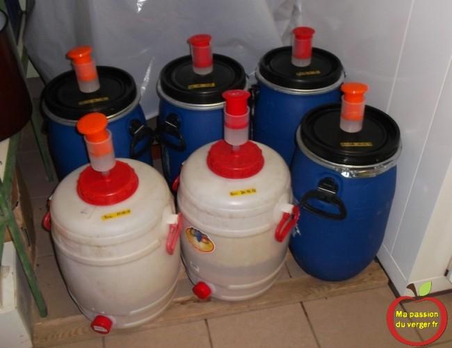 temperature de stockage des futs de fermentation de poires williams