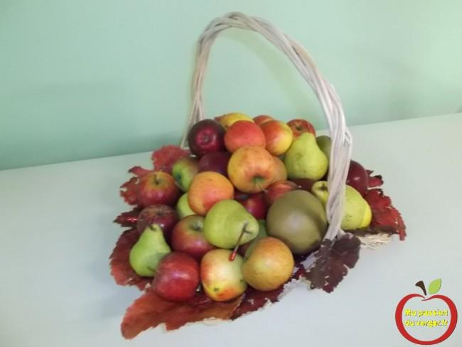 Les fruits du verger, à offrir, pour un bon cadeau original.