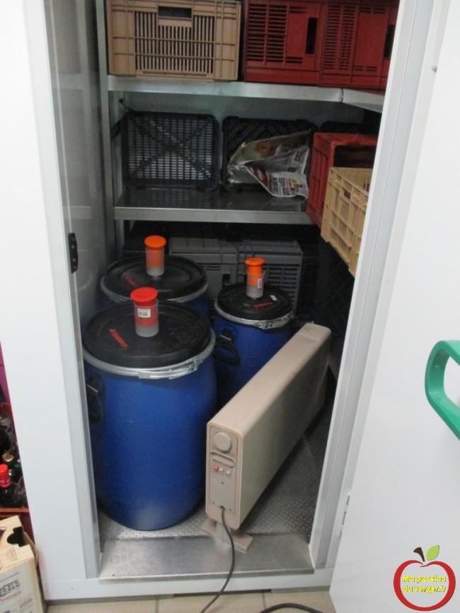 accelerer la fermentation des fûts de distillation