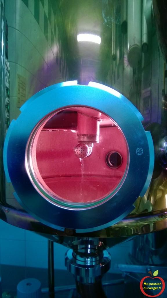 condensation dans l'alambic