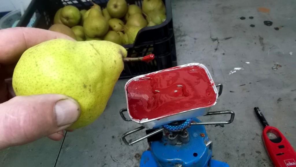 Comment conservation des poires plus longtemps.