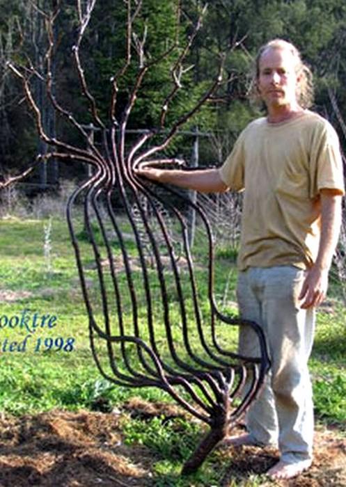 arborsculpture arbre original en chaise