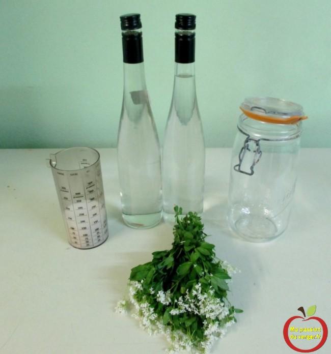 La recette de la liqueur d'aspérule odorante - waldmeister - waldi