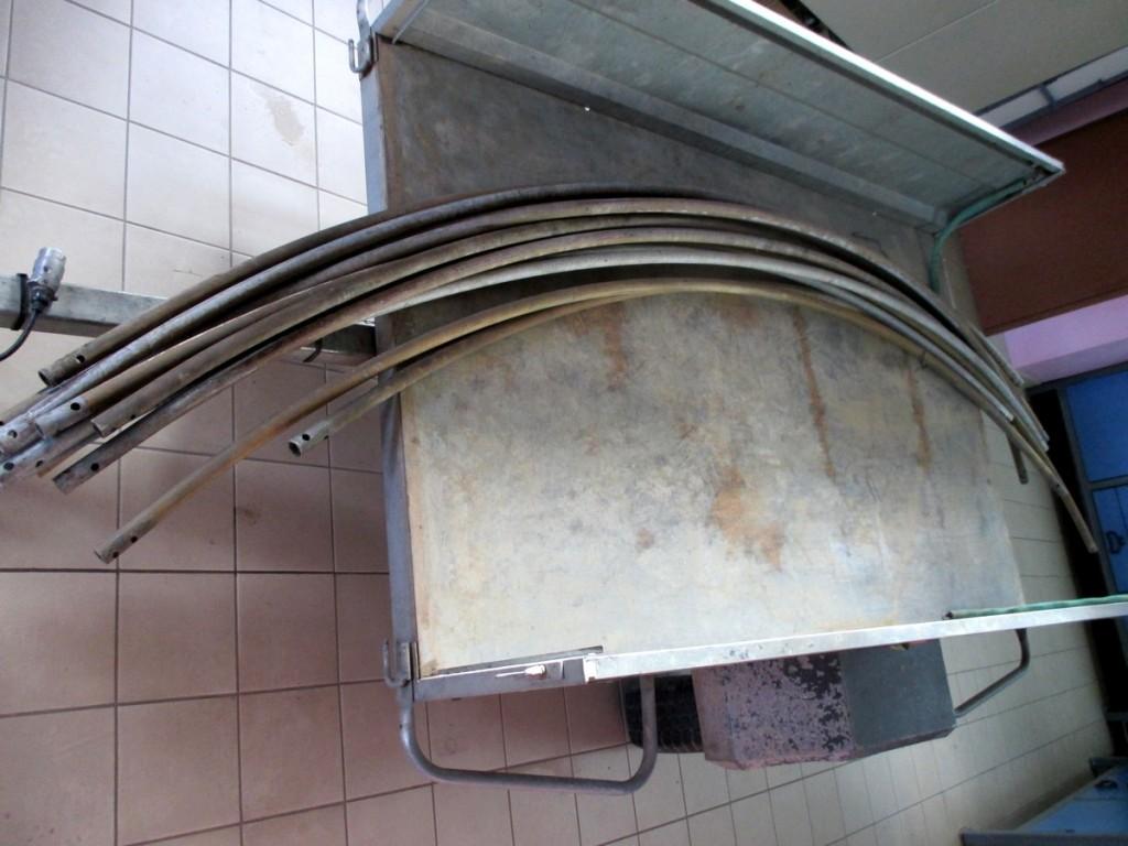 fabrication d'arche pour tonnelle de palissage