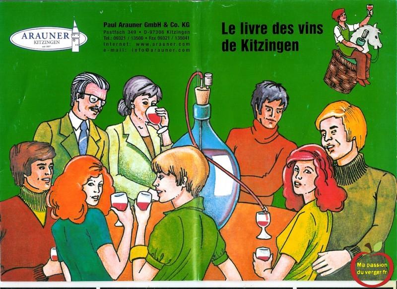 Le livre des vins de Kitzingen