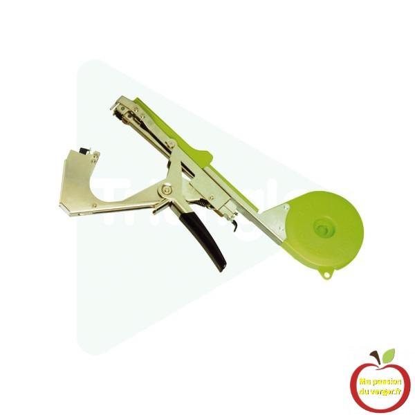 pince-a-tuteurer, un seul geste de réaliser des attaches solides et durables, pour le liage des vignes