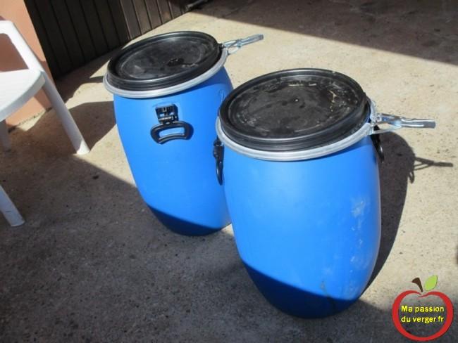 Faire démarer fermentation pomme-avec des nuits très fraiches, les pommes étaient très froides, donc le jus, n'a que 7 à 8°, température trop basse pour fermenter