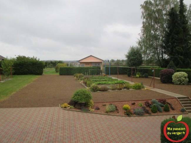 arrossage avec une bonne pluie pour la levee du gazon ou de la pelouse