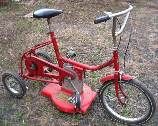 La tondeuse des mini-bikers