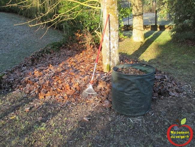 Comment recyclage des feuilles mortes dans le potager- potager permaculture.