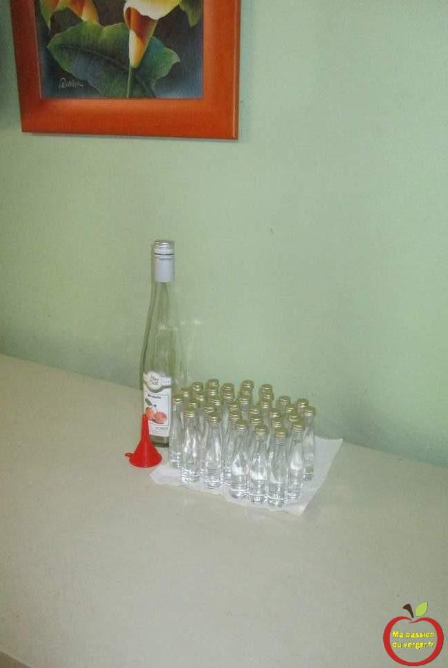 Mignonnette vide pour mariage- Mini-bouteilles-petite bouteille & mignonnette d'alcool - mini bouteille eau de vie- cadeau schnaps