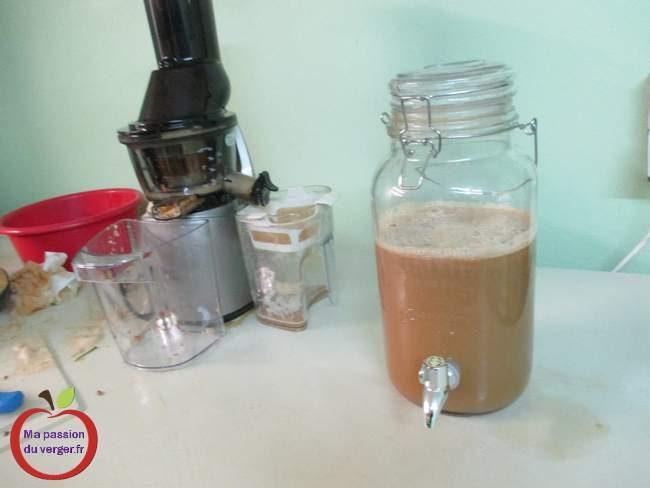 Jus de pomme frais -Comment faire un bon jus de pomme maison- faire un jus de pomme frais- presser des pomme avec un extracteur- réaliser un bon jus de pomme- le meilleur jus de pomme frais-
