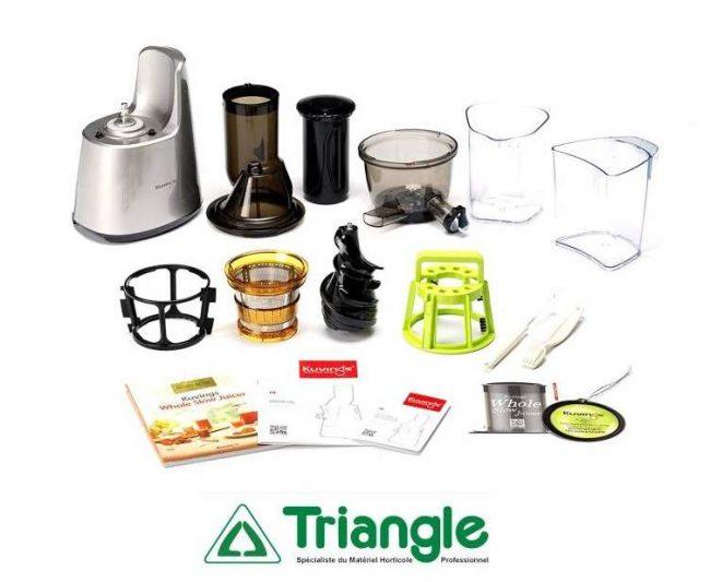 Extracteur de jus triangle- extracteur de jus frais- extracteur de jus Kuvings- Kuvings B 9400