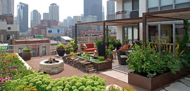 Potager urbain-potager toit-potager terrasse-culture city-potager en ville- jardinière toit- potager urbain - culture urbaine- potager sur toit immeuble.- aménagement potager urbain durable- potager urbain sans entretien