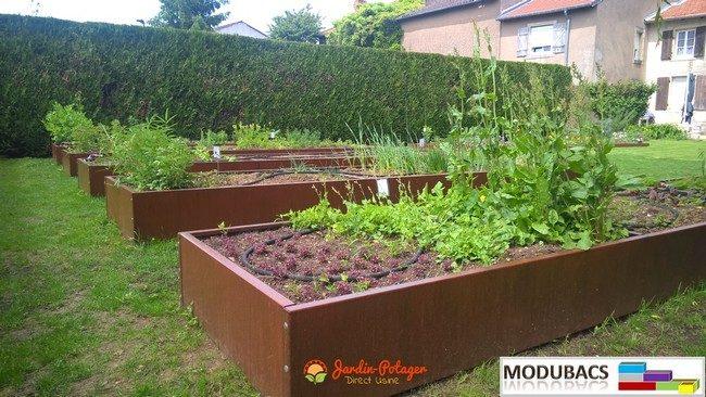 Réaliser un potager en carré, façon permaculture | Ma ...